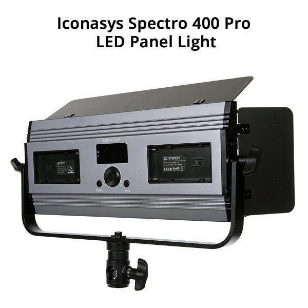 Iconasys Spectro 400 Pro LED Panel Light 01
