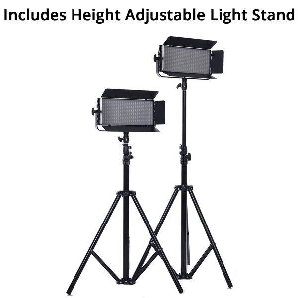 Iconasys Spectro 400 Pro LED Panel Light 04
