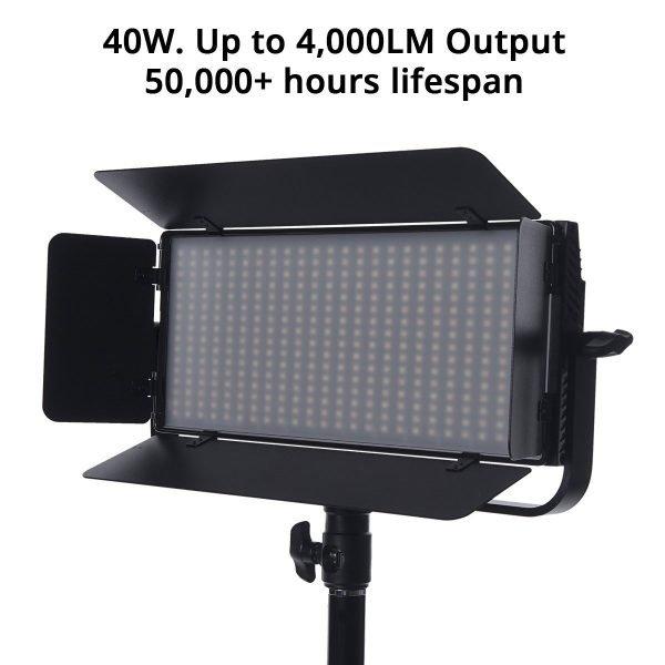 Iconasys Spectro 400 Pro LED Panel Light 05