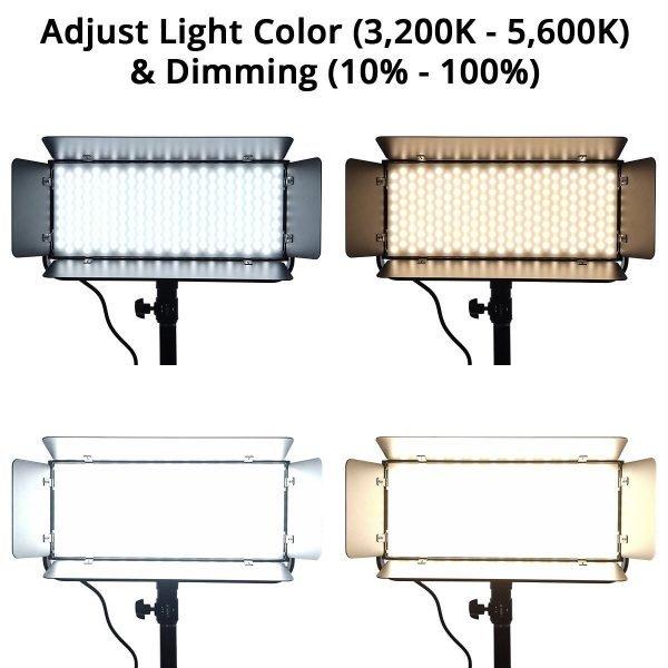 Iconasys Spectro 400 Pro LED Panel Light 07