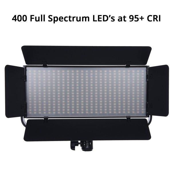 Iconasys Spectro 400 Pro LED Panel Light 09