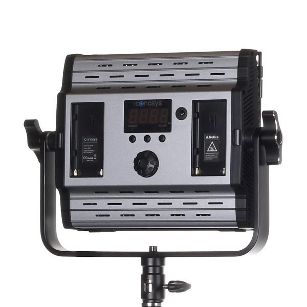 Spectro 600 Pro LED Panel Light 02