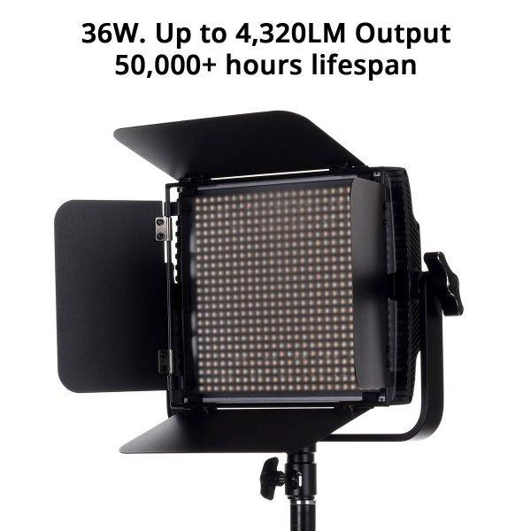 Spectro 600 Pro LED Panel Light 03