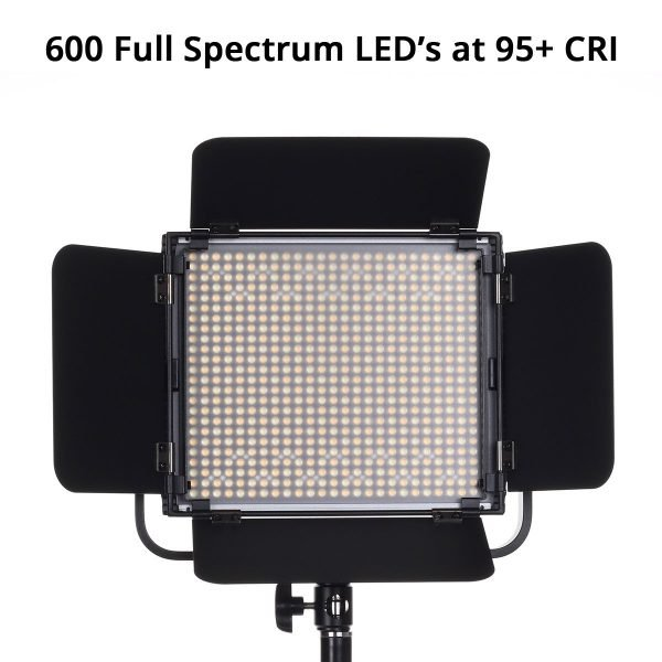 Spectro 600 Pro LED Panel Light 04
