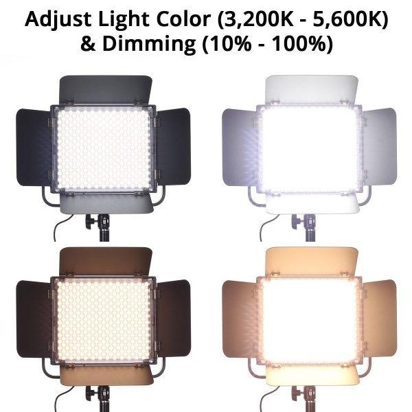 Spectro 600 Pro LED Panel Light 08